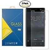 Protector de pantalla de cristal templado para Nokia 3 - TA-1020 - Protector de pantalla antigolpes...