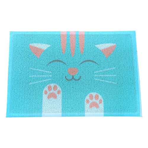 CHMSD001 Cat Litter Pad, Forros para Las Cajas de Arena Accesorios para Gatos Alfombra para Arena de Gato Alfombrilla Gato con para Proteger el Suelo y la Alfombra Alfombra para Gatos Felpudo