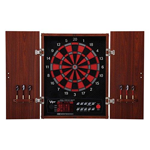 Viper Neptune Electronic Dartboard in Wood Cabinet