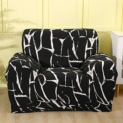 Dauerhafter und leicht zu reinigender Sofa-Cover Sofa-Cover, Sessel-Cover-elastisches Sofa-Cover Baumwoll-Stretch-Sofa-Cover für Wohnzimmer Copridivano Slipcover für Single Sofa Couch Couch