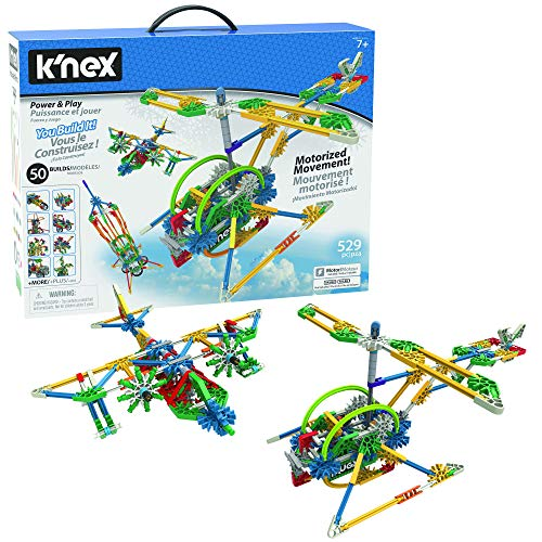Product Image of the K'NEX Imagine Power and Play Motorized Building Set 529 Pieces Ages 7 and Up...