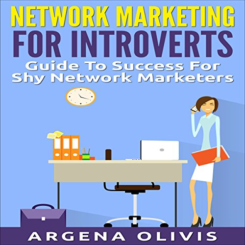 Network Marketing for Introverts audiobook cover art