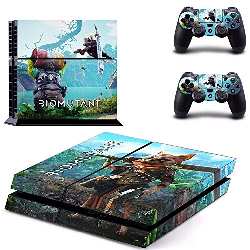 WANGPENG Shadow of The Colossus Ps4 Skin Sticker for Playstation 4 Console And Controller for Dualshock 4 Ps4 Skin Sticker Decal