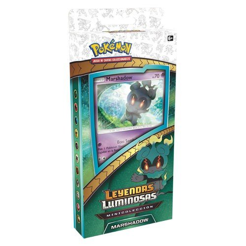 Pokemon JCC- Minicolección Marshadow de Leyendas Luminosas - Español (The Pokemon International Company POKC1801)