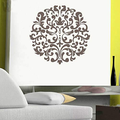 JXFM creatieve persoonlijkheid mandala-patroon sticker slaapkamer woonkamer achtergrond decoratie wand 40 x 38 cm