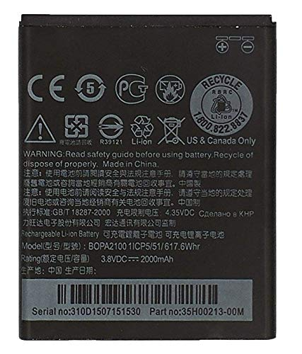 Bateria Compatible con HTC Desire 310 / D310W Dual Sim/Desire V1 |B0PA2100 / 35H00213