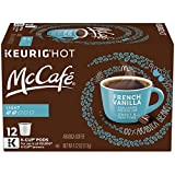 McCafé French Vanilla Light Roast K-Cup Coffee Pods (72 Pods, 6 Packs of 12)