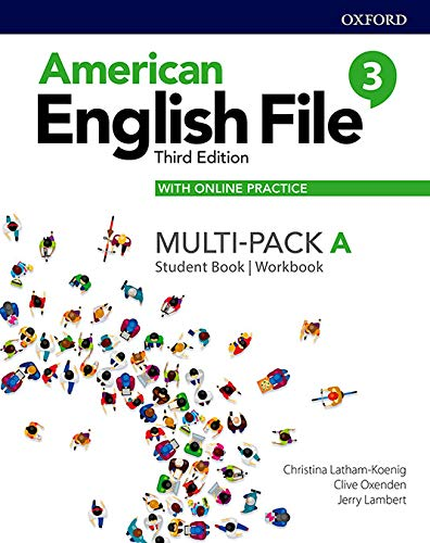American English File: Level 3: Student Book/Workbook Multi-Pack A with Online Practice