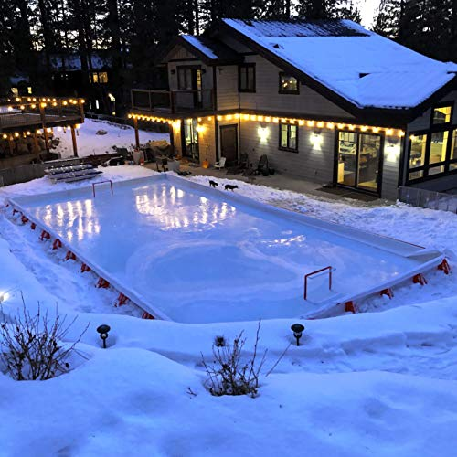 Ice N'Go Pro Rink Kit 16' X 36' (Backyard Ice Hockey Rink Kit)