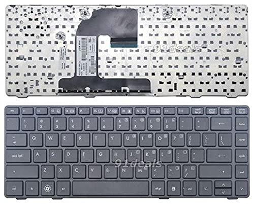 Ellenbogenorthese-LQ Nuevo Teclado Negro de EE. UU.Compatible con HP EliteBook 8460p 8460w 8470p 8470w 6037B0058701