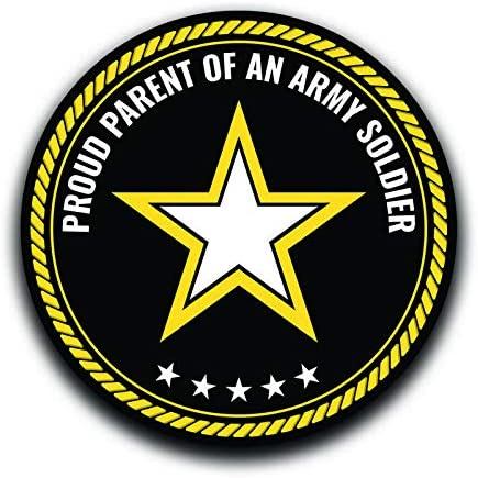 More Shiz Proud Parent of an Ranking TOP20 favorite Car Soldier Army Decal Truc Sticker