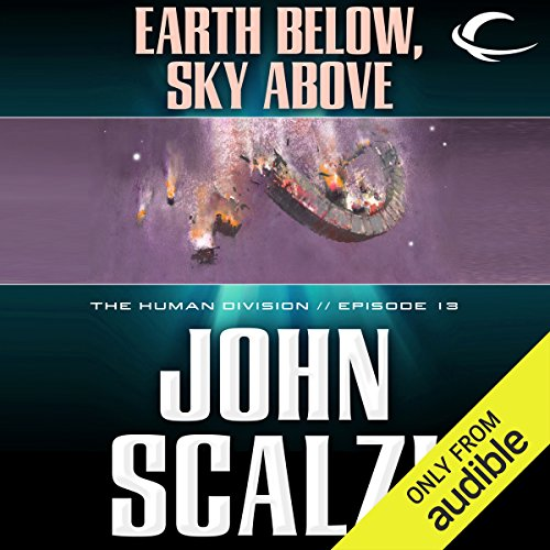 Earth Below, Sky Above audiobook cover art