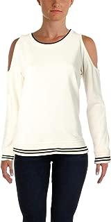 Ralph Lauren Lauren Womens Knit Cold Shoulder Pullover Sweater