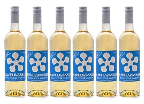 Havelwasser - Birnensaft & Weißwein, 6 x 750ml Glasflasche, Bio