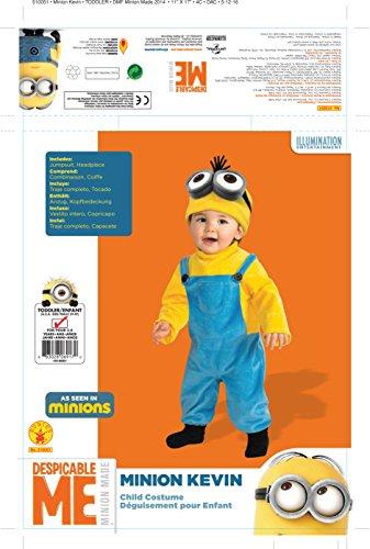 Disfraz de Minion Kevin para bebé: Amazon.es: Juguetes y juegos