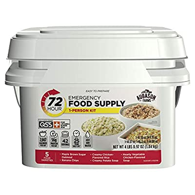 Augason Farms 72-Hour 1-Person Emergency Food Supply Kit 4 lbs 1 oz from Augason Farms