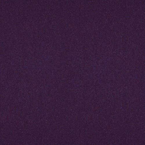 englisch dekor Tela para Muebles de decoración Inglesa, ignífuga, Color Lila, como Tela de tapicería Resistente para Coser y Relax, Lana Virgen, Poliamida, absorción de Ruido, oscurecimiento