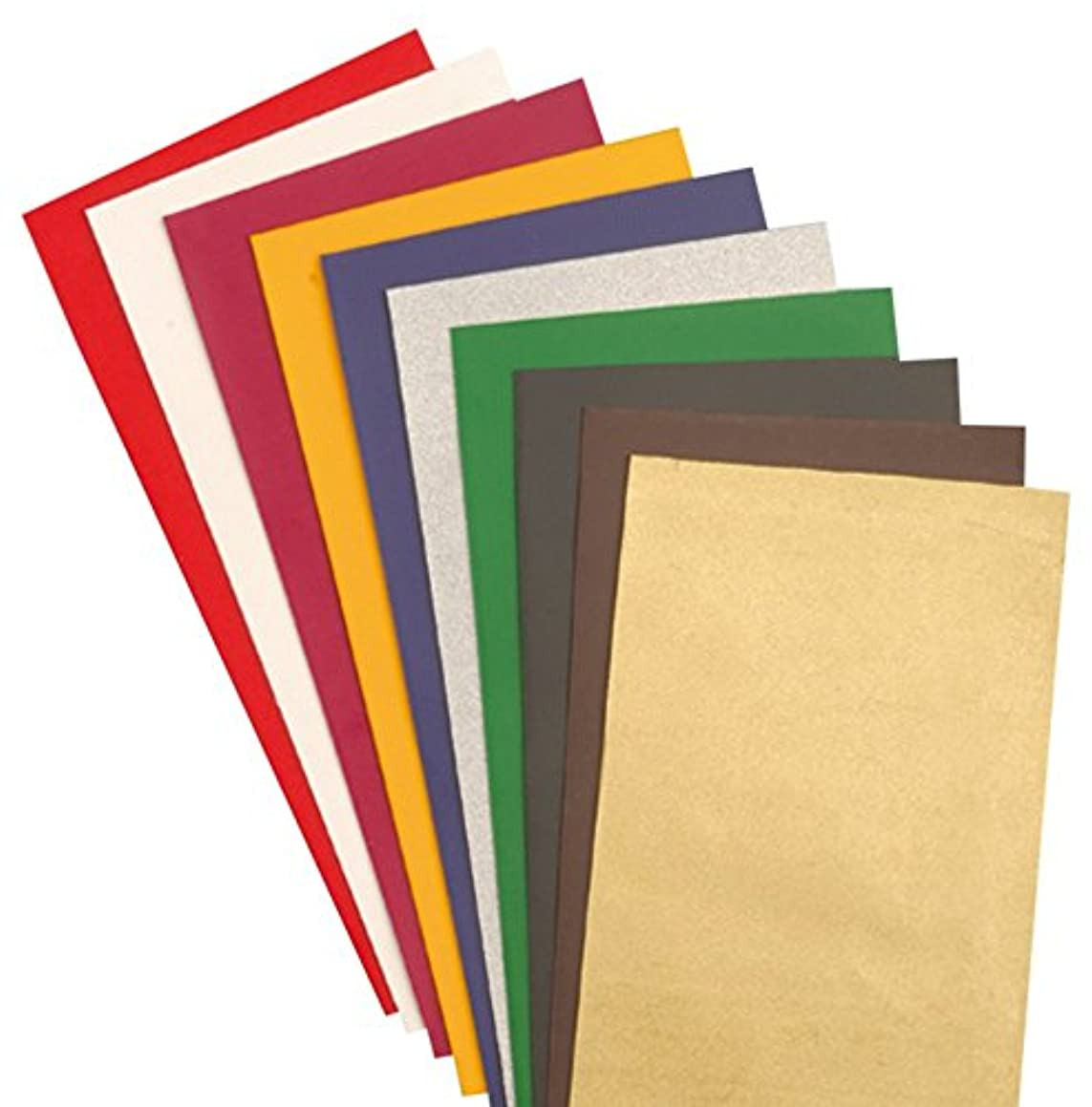 EFCO Wax Sheet, Multi-Colour, 100 x 100 x 0.5 mm, 10-Piece by Efco
