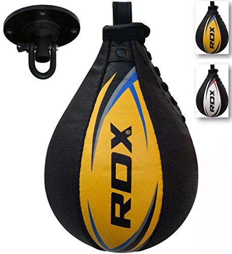 RDX Velocidad Bola Cuero MMA Peras Boxeo Pera Rápida Speed