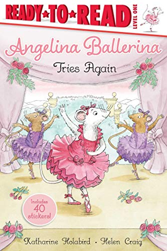 Angelina Ballerina Tries Again