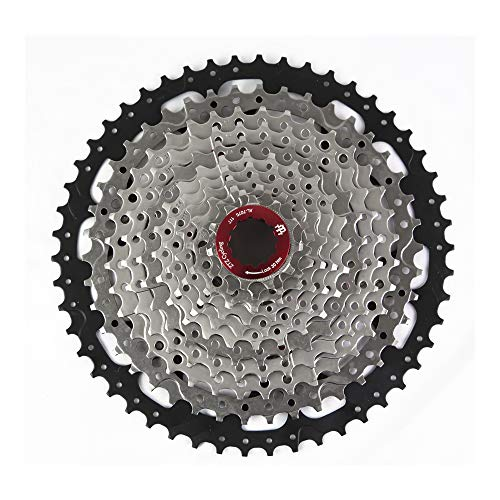 ZTZ 8/9/10 Speed Cassette MTB Cassette 11-42T 8 Speed Fit for Mountain Bike, Road Bicycle, MTB, BMX, SRAM Shimano Sunrace (8 Speed 11-42T)