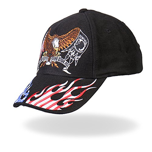 Hot Leathers Some Gave All Ball Cap (Black)