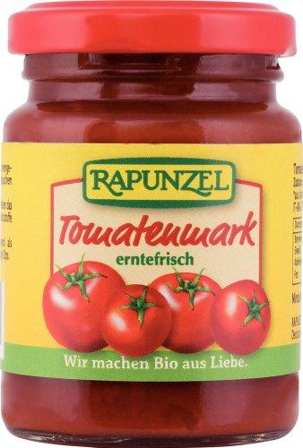 Rapunzel Tomatenmark 22% Tr.M, 4er Pack (4 x 100 g) - Bio