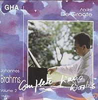 Brahms: Complete Piano Works V