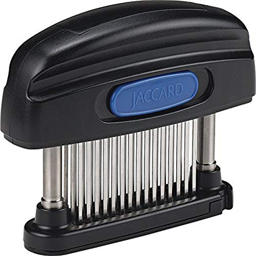 Jaccard 200345NS 45Blade Meat Tenderizer Simply Better Meat Tenderizer Stainless Steel Columns/ Removable Cartridge NSF Approved Black