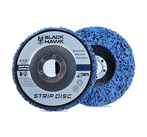 BHA Easy Strip Discs Clean and Remove Paint, Rust and Oxidation 4-1/2 x 7/8 - 5 Pack