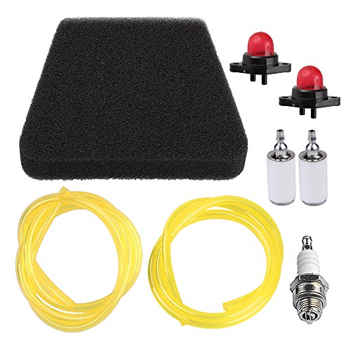 Panari 530037793 Air Filter Tune Up Kit Primer Bulb Fuel Line Fuel Filter for Poulan Craftsman Chainsaw 530069216 530069247 530071835 530095646