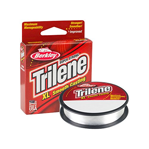 Berkley Trilene XL Smooth Casting Monofilament Service Spools (XLPS6-15), 110 Yd, pound test 6...