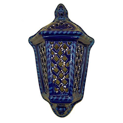 Decoración étnica aplique pared lámpara terracota Tunisina Marroquí 1401211013