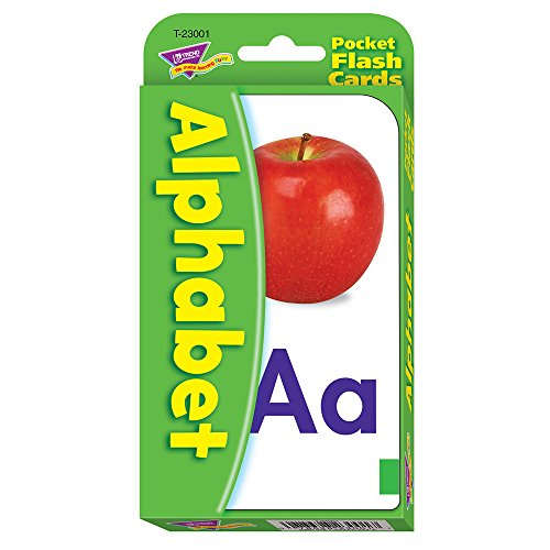Alphabet Pocket Flash Cards, 3-1/8\