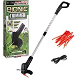 Household Rechargeable <span class='highlight'>Grass</span> Lawn Trimmers,Cordless Electric <span class='highlight'>Grass</span> Trimmer Telescopic Lightweight Powerful Garden Weed Strimmer Lawn Mower Cutters Edging Shear Garden Tools Adjustable Length 21-105cm