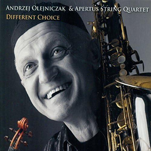 Andrzej Olejniczak & Apertus String Quartet