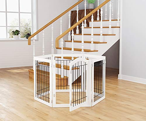 51Hvr9ol5TL The Best Baby Gates for Dogs 2021 [In-depth Review]