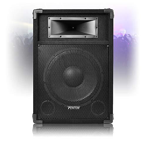 Skytec 12' Active Karaoke DJ PA Speaker 600W