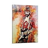 CHAOZHE Poster mit Eric Clapton Soul Rock und Blues