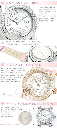 『Disney(ディズニー) 腕時計 ミッキー×スワロフスキー レディース時計』の4枚目の画像
