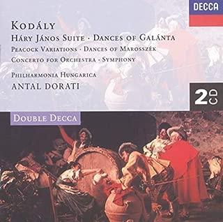 Kodaly: Dances of Galanta; Hary Janos Suite