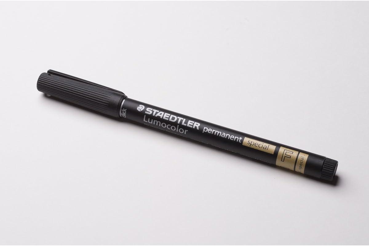 Staedtler Spezialstift Lumocolor Permanent F, Sw Amazon.de ...