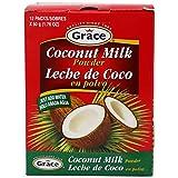 Grace Dry Coconut Milk Powder - 12 pack - No Preservatives No Refrigeration - Just Add Water - Milk...