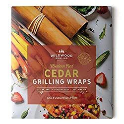 package of cedar grilling wraps