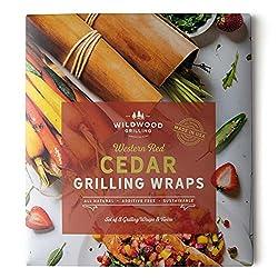 package of cedar grilling wraps