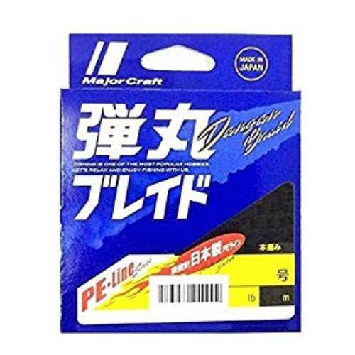 メジャークラフトPEライン弾丸ブレイド4本編みライトゲーム用DBL4-150/0.3PKピンク150M/0.3号