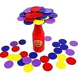 Yifuty Pädagogisches Spielzeug Flasche Herausforderung Konzentration Flasche Gleichgewicht Eltern-Kind-Interactive Spaß Brettspiel Kinder 22,2 * 21,2 * 5.7cm