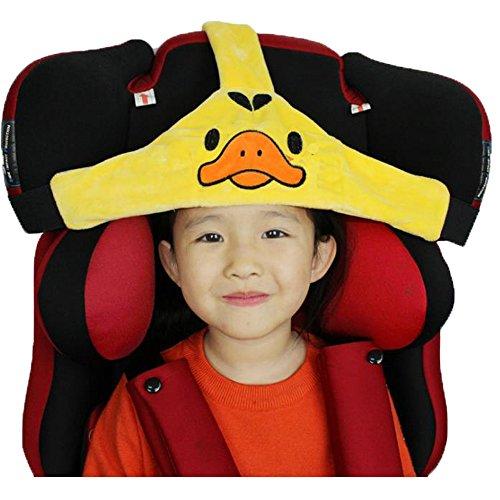 MINGZE Seggiolino Auto per Bambino, Supporto per la Testa del seggiolino Auto, posizionatore per Il Sonno Sicuro e Accogliente, Cintura di...
