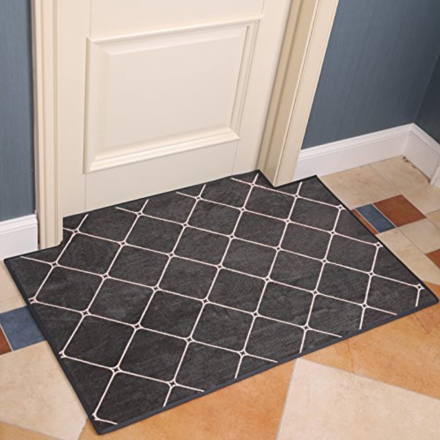 Door-to-Door Door-to-Door Doormat Living Room mat Bedroom Anti slip-D-100x150cm(39x59inch)