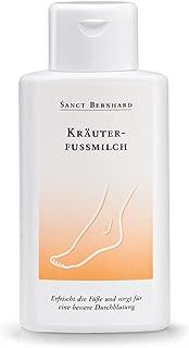 Sanct Bernhard Kräuter-Fußmilch mit Ringelblume, Beinwell, Rosskastanie, Arnika, Kampfer 250 ml